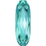4161 Long Classical Oval Aquamarine (202)