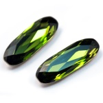 4161 Long Classical Oval Olivine (228)