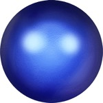 5810 Crystal Round Pearl Crystal Iridescent Dark Blue (001 949)