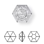 4681 Vision Hexagon Fancy Stone