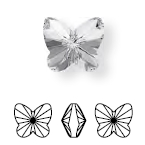 4748 Rivoli Butterfly Fancy Stone