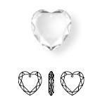 6225 Heart Scalloped Pendant