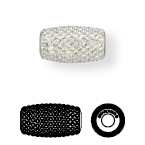 80921 BeCharmed Pave Column Bead