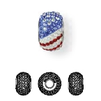 81864 BeCharmed Pave Flag USA