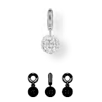87003 BeCharmed Pave Ball Charm