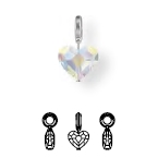87004 BeCharmed Crystal Love Charm